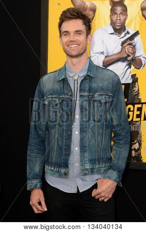 LOS ANGELES - JUN 10:  Tyler Hilton at the Central Intelligence Los Angeles Premiere at the Village Theater on June 10, 2016 in Westwood, CA