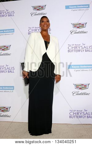 LOS ANGELES - JUN 11:  Queen Latifiah, Dana Owens at the 15th Annual Chrysalis Butterfly Ball at the Private Residence on June 11, 2016 in Brentwood, CA
