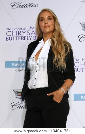 LOS ANGELES - JUN 11:  Elizabeth Berkley at the 15th Annual Chrysalis Butterfly Ball at the Private Residence on June 11, 2016 in Brentwood, CA
