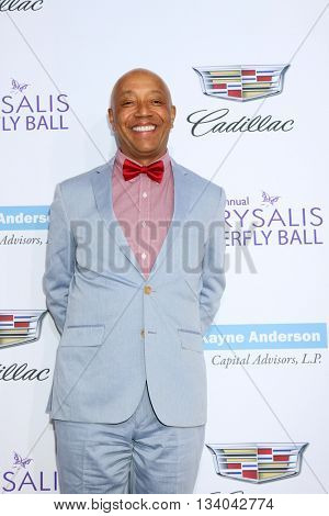 LOS ANGELES - JUN 11:  Russell Simmons at the 15th Annual Chrysalis Butterfly Ball at the Private Residence on June 11, 2016 in Brentwood, CA