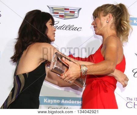 LOS ANGELES - JUN 11:  Selma Blair, Rebecca Gayheart at the 15th Annual Chrysalis Butterfly Ball at the Private Residence on June 11, 2016 in Brentwood, CA