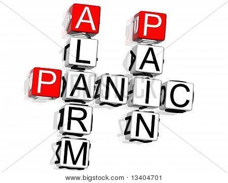 Panic Alarm Pain Crossword