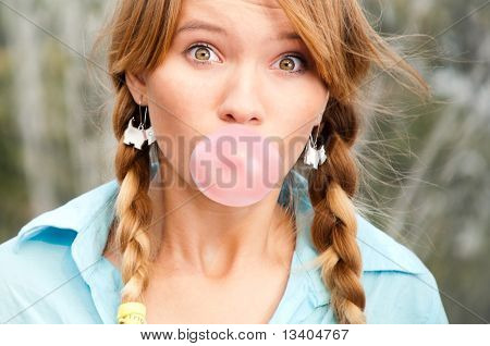 Beautiful Young Student Girl