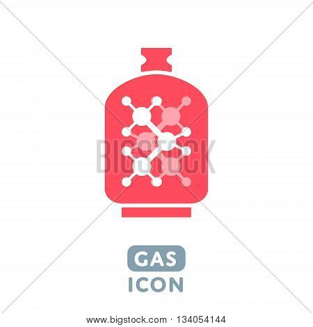 Vector Liquid Propane Gas icon Illustration sign symbol design