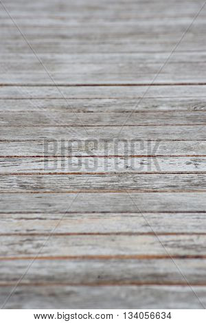Background of a wooden plank walkway in a garden. Home and garden concept.
