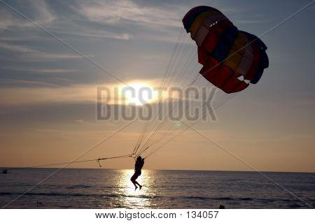 Parachutting Water Sports 1