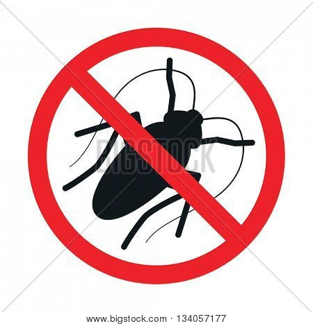The kill cockroach sign  // Vector
