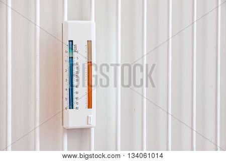 heating measurement control reading panel - indoors