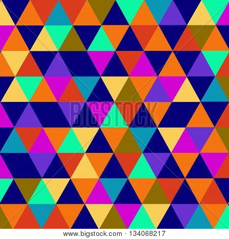 Abstract background vector illustration with colored art