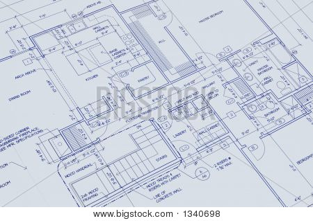Blueprint Of A House