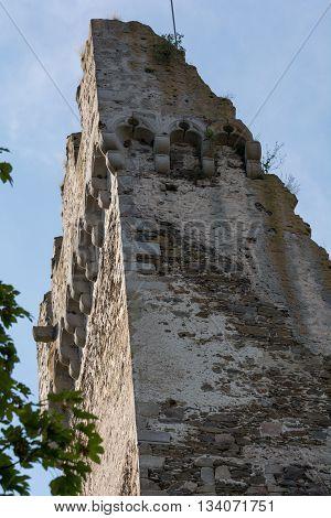 Castle tower of ruins Schaumberg - Austria