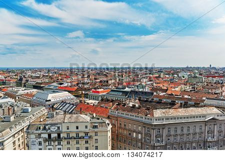 Center Of Budapest, View From The St.stephen Basilica