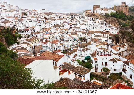 Setenil de las Bodegas, Cadiz Province, Spain