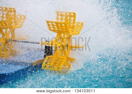 Plastic Water Turbine