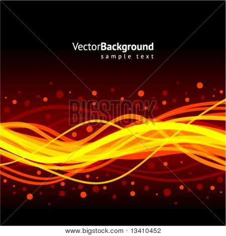 Waveform vector background