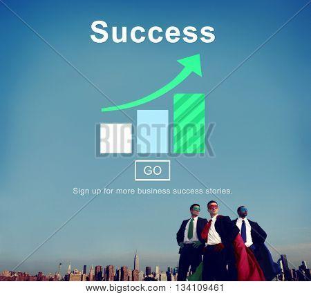 Success Achievement Accomplishment Successful Concept