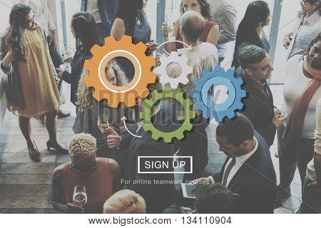 Corporate Organization Enterprise Management Concept
