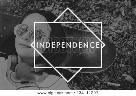 Independence Freedom Political Liberty Concept