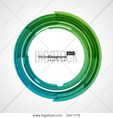 Abstract technology circle vector background