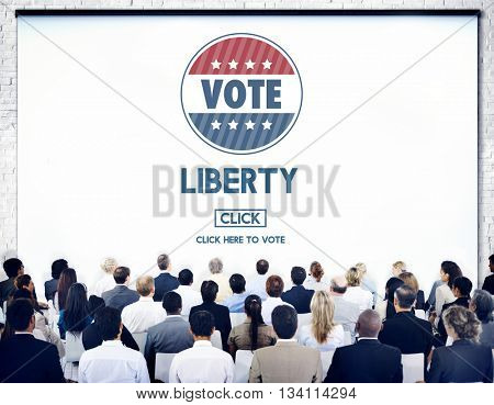 Liberty Independence Law Political Rights Concept