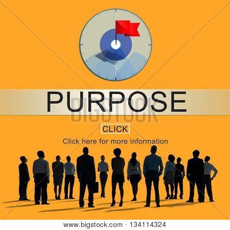 Purpose Aim Mean Objective Potential Reason Concept