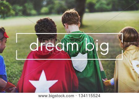 Dream Dreamer Imagination Inspire Goal Concept