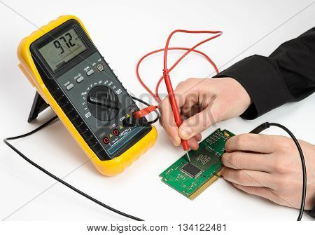 Testing Electronic Device
