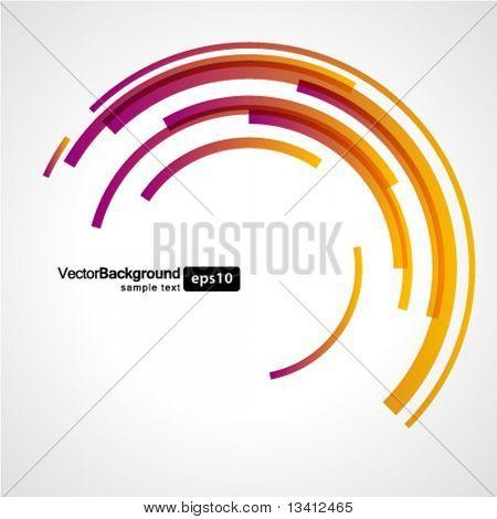 Abstrakte Kreise Vektor-Technologie