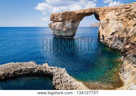 Azure Window On The Island Gozo