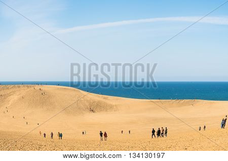 Tottori Sand Dunes  And Beach