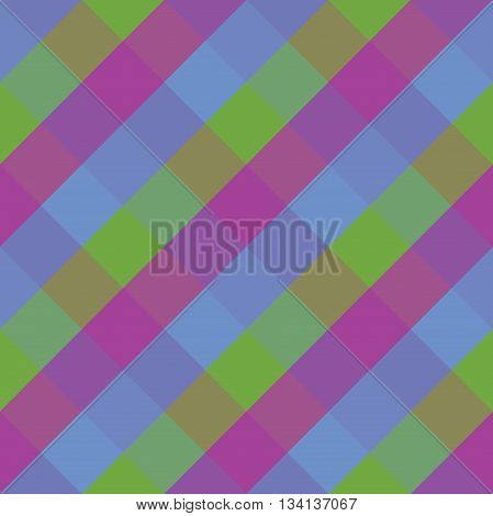 Seamless geometric pattern. Madras check pattern with lily green blue.Digital print for wallpaper wrapping paper fabric textile scrap booking apparel web design.Vector seamless background.