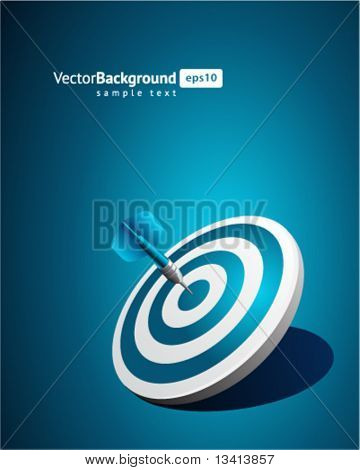Dart vector background. Eps 10