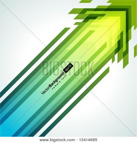Pijlen vector achtergrond. EPS-10