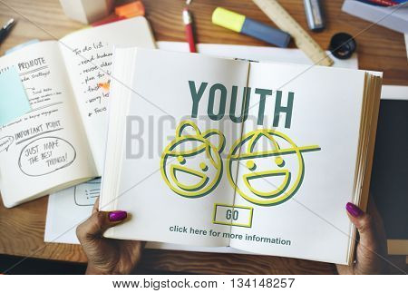 Youth Young Adult Kids Child Concept