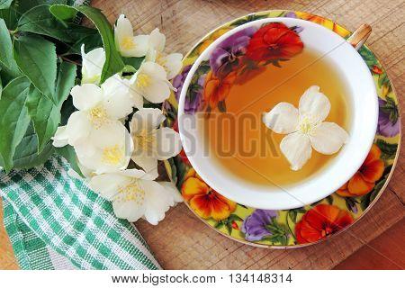 Jasmine Tea And Pie