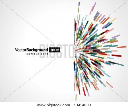 Resumen tecnología líneas vector fondo. EPS 10