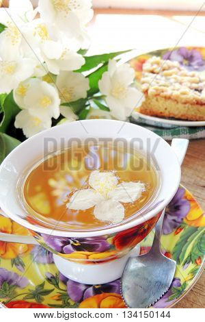 Jasmine Tea And Pie