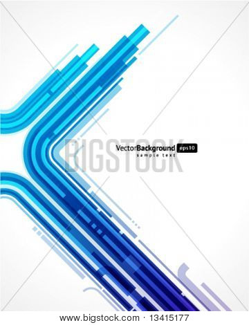 Abstract retro technology lines vector background. Eps 10