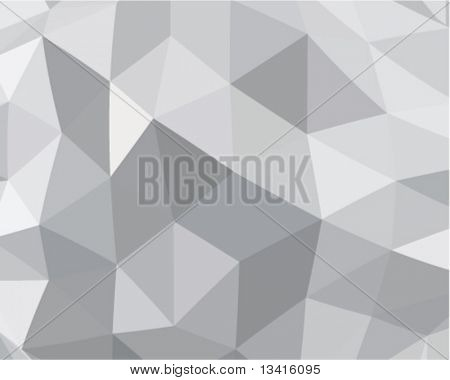 Abstract 3d origami paper  vector background