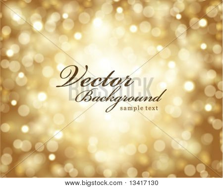 Vector bokeh light background