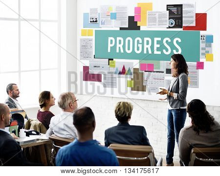Progress Better Development Growth Innovation Concept