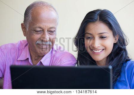 Teaching At The Laptop