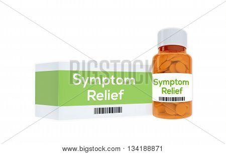 Symptom Relief Medication Concept
