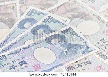 Banknotes Of The Japanese Yen,  1,000 Yen, 10,000 Yen