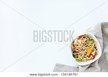 Yummy noodles for the dinner
