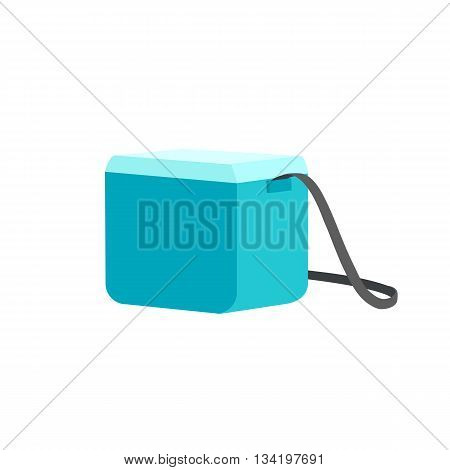 Cooler bag. Vector illustration. Isolated object on a white background.