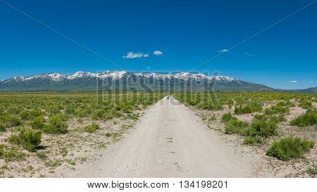 Idaho Road Panorama
