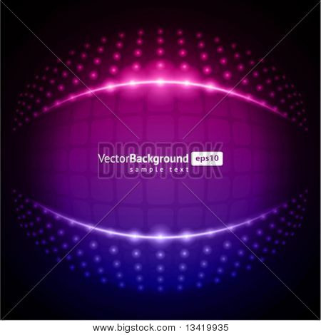 Abstract light lamps vector backround