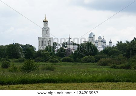 St. George monastery -- one of the oldest monasteries of Russia. In the past, the spiritual center of the Novgorod Republic, today it is a functioning male monastery of the Russian Orthodox Church.
