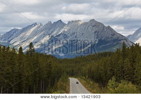 Maligne Road And Colin Range, Canada